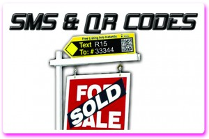 Real Estate SMS QR Codes Toronto Mississauga