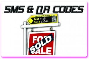 Real Estate SMS QR Codes Toronto Mississauga